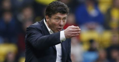 Walter Mazzarri: Dishes out the orders
