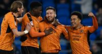 Wolves: Celebrate win in Nottingham