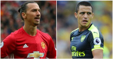 Zlatan & Alexis: Bang in form
