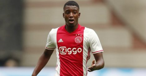 Riechedly Bazoer: Set to leave Ajax in January.