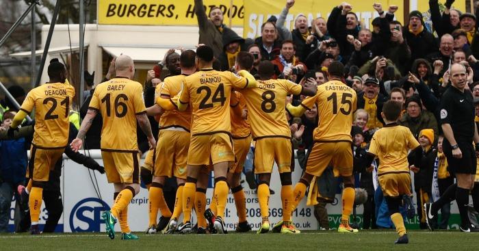 Sutton United: Make FA Cup 5th round