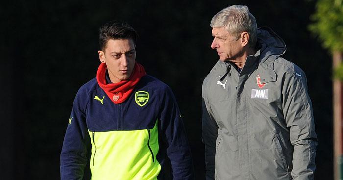 Mesut Ozil: Arsenal future unclear