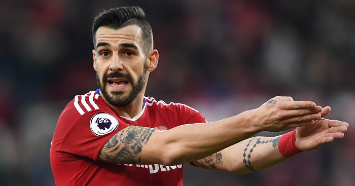 Alvaro Negredo: On target for Middlesbrough in cup