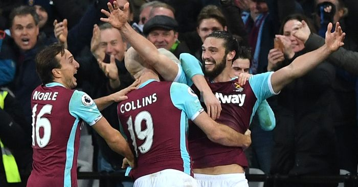 Andy Carroll: Scores screamer against Palace
