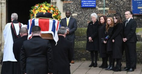Graham Taylor: Remembered at funeral service