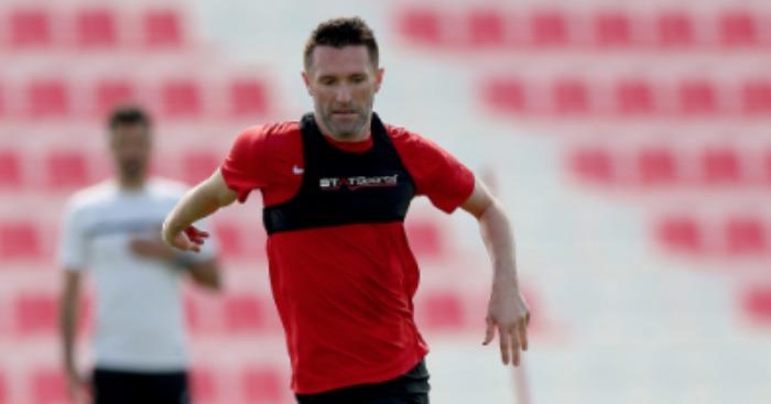 Robbie Keane: Training with Al Ahli