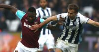 Craig Dawson: In action against West Ham