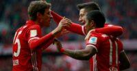 Thomas Muller (l): Regularly the subject of Man Utd interest