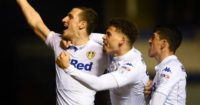 Chris Wood: Bagged a brace as Leeds beat Birmingham
