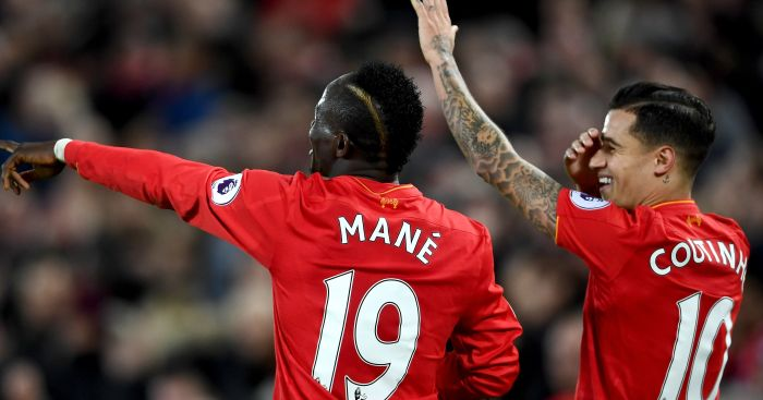 Sadio Mane: Starred in Liverpool's win over Arsenal
