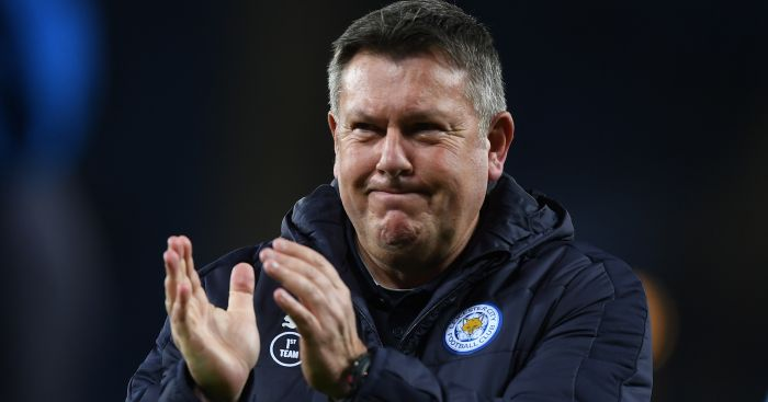 Craig Shakespeare: Proud of Leicester