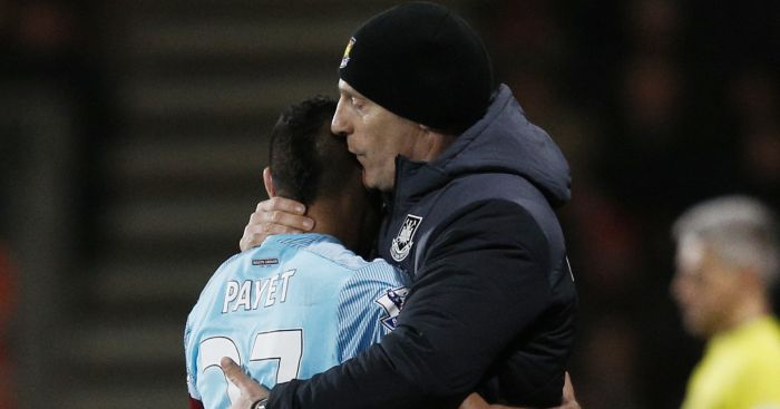 Dimitri Payet: Was unhappy with Bilic's defensive tactics