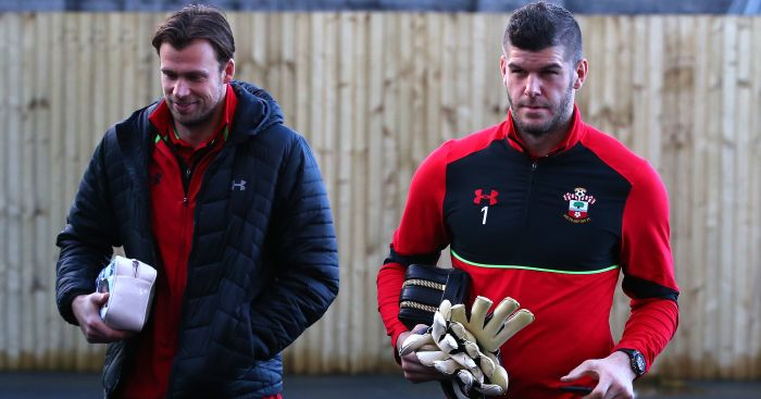 Fraser Forster: Linked with a summer switch to Everton