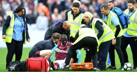 Pedro Obiang: Injured his ankle against Leicester