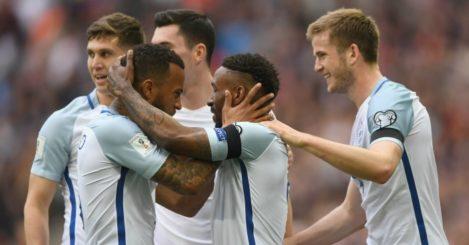 Jermain Defoe: Scores opener for England