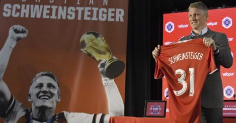 Bastian Schweinsteiger: Has moved to Chicago Fire
