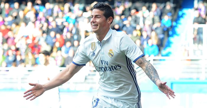 James Rodriguez: Could move to Man Utd this summer