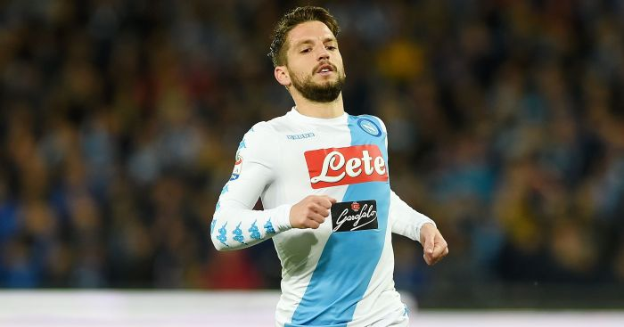 Dries Mertens: Linked with Manchester United switch