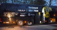 Dortmund: Team bus hit by explosions