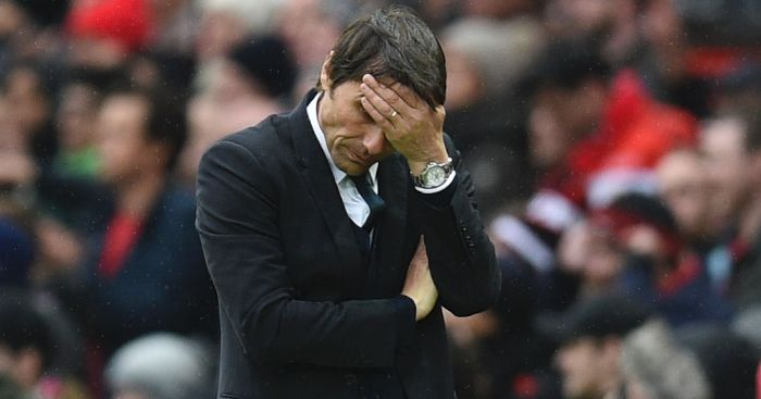Antonio Conte: Took the blame for Man United defeat
