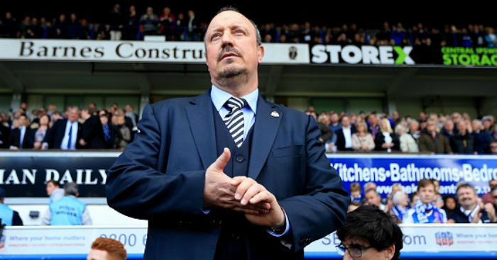 Newcastle boss Rafa Benitez