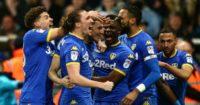 Leeds United celebrate