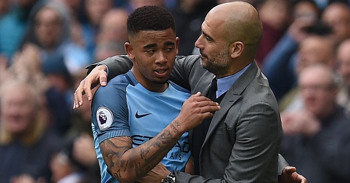 Good news, bad news as agent chats Gabriel Jesus, Guardiola to Juventus