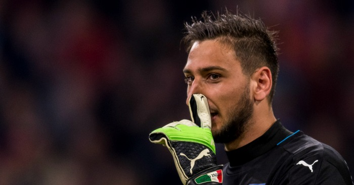 Gianluigi Donnarumma - Euro Paper Talk: Juve offer Man Utd 2 players for Pogba; Solskjaer lines up new keeper