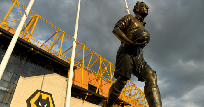WOLVERHAMPTON, ENGLAND - AUGUST 11: A general view of Molineux before the Capital One Cup First Round match between Wolverhampton Wanderers and Newport County at Molineux on August 11, 2015 in Wolverhampton, England. (Photo by Stu Forster/Getty Images)