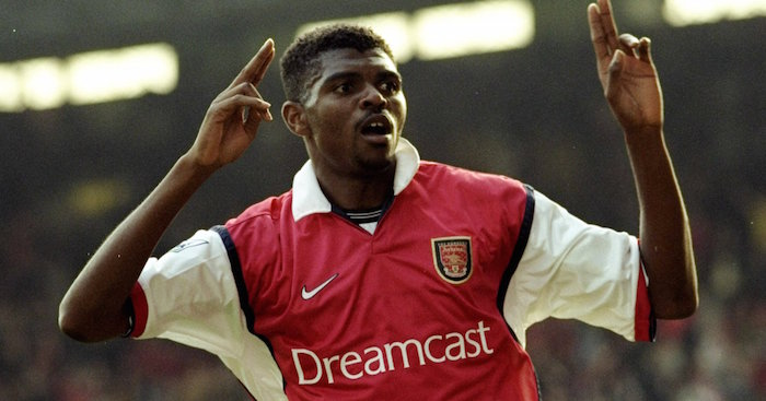 Nwankwo Kanu Arsenal TEAMtalk