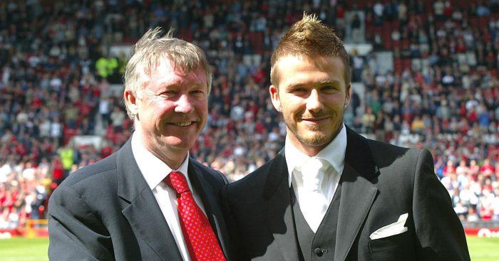 PA.12001864 - Beckham, Ferguson lead tributes as Man Utd coach Eric Harrison dies
