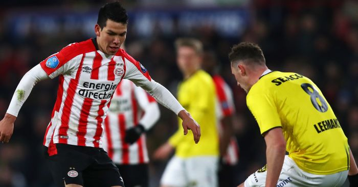 Hirving.Lozano - Euro Paper Talk: Director tells Arsenal to beat Liverpool to £72m winger