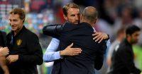 Gareth Southgate Roberto Martinez England Belgium