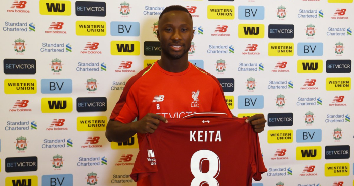 the best attitude 16ff3 8b84b Keita, Fabinho and Lallana named in predicted Liverpool line ...