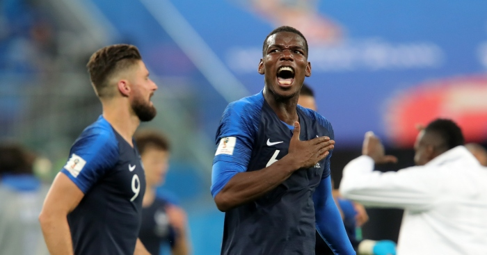Paul Pogba France Belgium - Pogba hid during war with Mourinho at Man Utd claims former Arsenal star