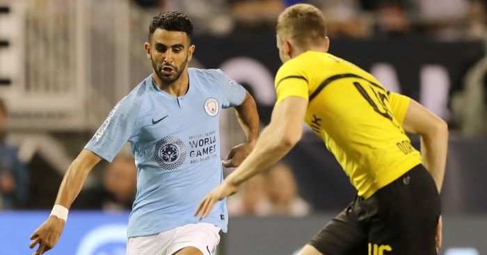 Riyad Mahrez Man City