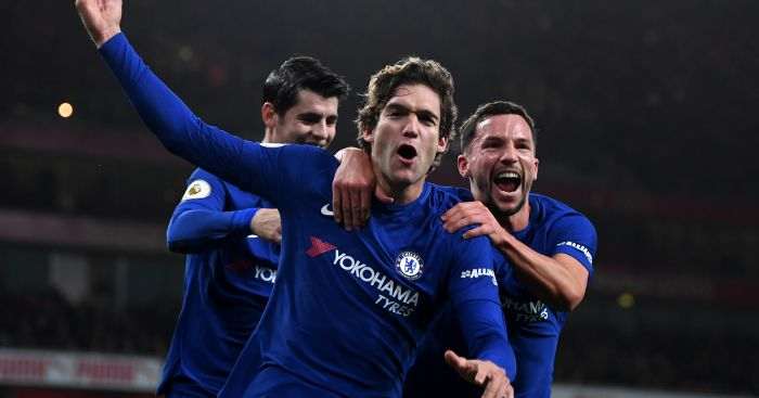 Marcos Alonso; Danny Drinkwater TEAMtalk
