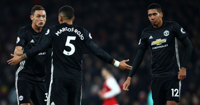 Marcos Rojo; Chris Smalling TEAMtalk