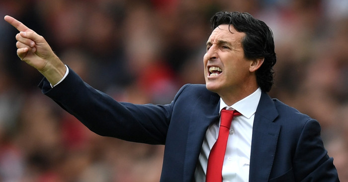 Unai Emery Not In Agreement With Arsenal Fans Teamtalk