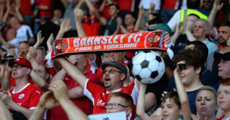 Barnsley fans