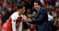 Mesut Ozil Unai Emery TEAMtalk