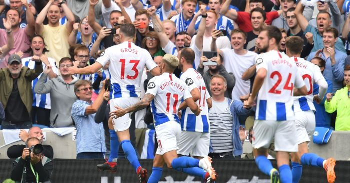 Defensive errors see woeful Man Utd suffer narrow defeat at Brighton