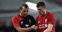 James Milner Brendan Rodgers Liverpool