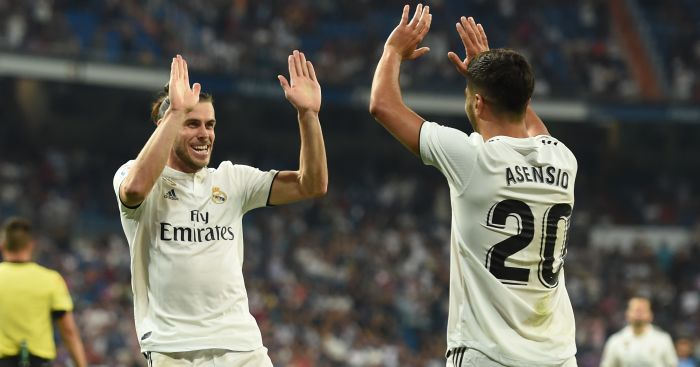Gareth Bale; Marco Asensio TEAMtalk