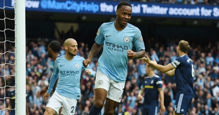 Chelsea suspend four supporters over Raheem Sterling abuse
