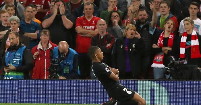 Mbappe Anfield Liverpool fans TEAMtalk