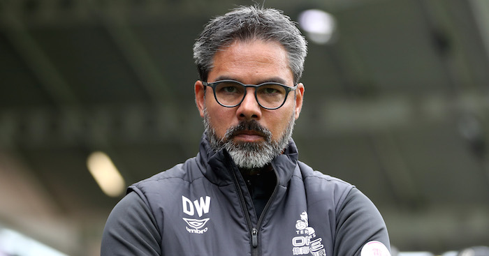 HUDDERSFIELD, ENGLAND - SEPTEMBER 15: David Wagner, manager of Huddersfield Town looks on ahead of the Premier League match between Huddersfield Town and Crystal Palace at John Smith's Stadium on September 15, 2018 in Huddersfield, United Kingdom. (Photo by Mark Robinson/Getty Images)