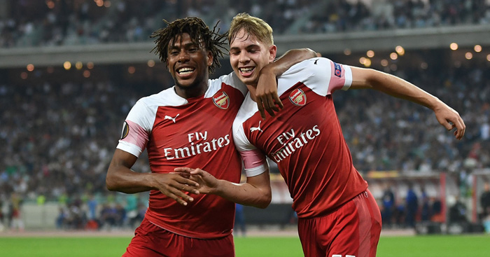 Emile Smith Rowe Opens Arsenal Account In Comfortable Qarabag Stroll