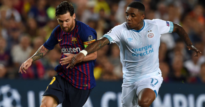 Lionel.Messi .Steven.Bergwijn1 - Man Utd maintain strong interest in beating Liverpool to £25m winger