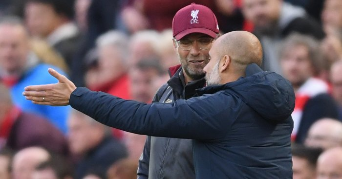 Pep Guardiola Jurgen Klopp TEAMtalk